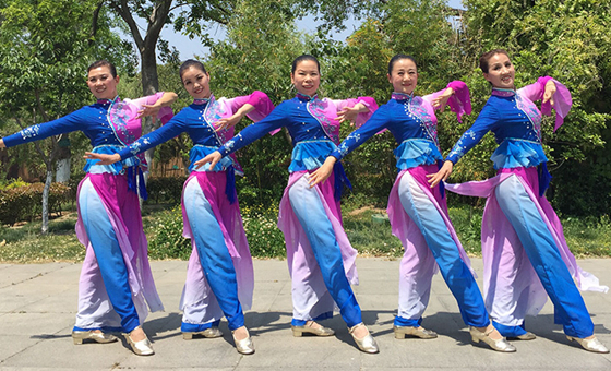 刘荣广场舞《茶禅一味》原创舞蹈 附正背面口令分解教学演示