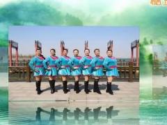 刘荣广场舞《最美的中国》原创舞蹈 附正背面口令分解教学演示