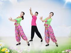 糖豆广场舞课堂《家乡的姑娘真漂亮》编舞珊珊 附正背面口令分解教学演示