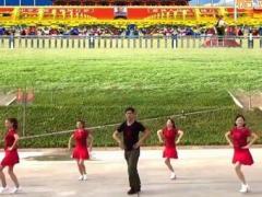 凤凰六哥广场舞《敬祝毛主席万寿无疆》原创水兵舞 附正背面口令分解教学演示