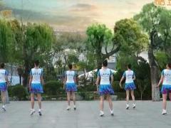 刘荣广场舞《江山多娇》原创舞蹈 附正背面口令分解教学演示
