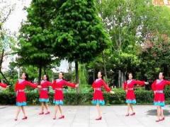 刘荣广场舞《草原情缘》原创舞蹈 附正背面口令分解教学演示