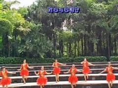 漓江飞舞广场舞《桥头恋歌》原创舞