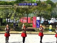 漓江飞舞广场舞《山水唱情歌》原创