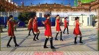 安庆小红人广场舞《姐的心事谁明白》原创舞蹈 团队正背面演示