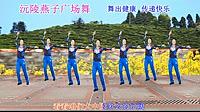 沅陵燕子广场舞《美丽大中国》原创舞蹈 附背面口令分解教学演示