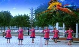 肥矿集团青馨明月广场舞《藏家吉祥》编舞沚水 团队演示