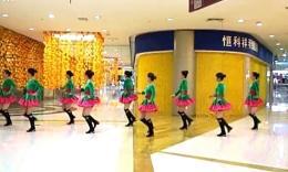 青岛即墨阳光玫瑰广场舞《一路惊喜》原创舞蹈 附正背面口令分解教学演示