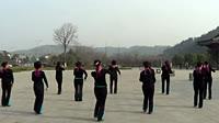 谢春燕团队广场舞《习大大爱着彭麻麻》原创舞蹈 团队演示