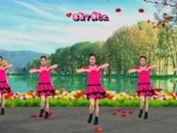 彩蝶依依广场舞《红姑娘》原创抒情甜美风舞 附口令分解动作教学演示