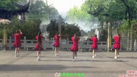 羽蝶广场舞《给草原打个电话》原创健身舞 正背面演示口令分解动作教学