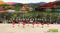 陕西华阴罗敷女舞蹈队广场舞 【今天是你的生日】 表演 团队版