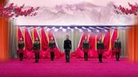 北京王钧广场舞  桃花运 表演 团队版