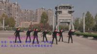 池州百牙塔健身队广场舞《我在这里你在哪里》原创舞蹈 表演 团队版