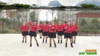 陕西华州莲花寺白石舞蹈队广场舞 【妹妹山丹花】 表演 团队版