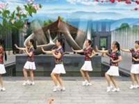 丽丽自由广场舞《爱情就像一首歌 》原创水兵舞 口令分解动作教学演示