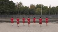 舞之恋舞蹈队广场舞《花开富贵》原创舞蹈 表演 团队版