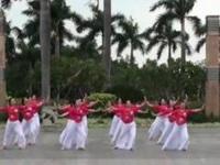 厦门舞之缘广场舞《绣红旗》原创舞蹈 附正背面口令分解动作教学演示