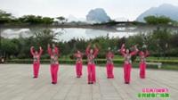 陕西华阴青春舞蹈队广场舞 又见两只蝴蝶飞 表演 团队版
