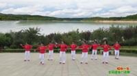 陕西华阴十冶夕阳红舞蹈队广场舞 相伴一生 表演 团队版