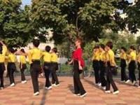 笑春风广场舞《人生何处不相逢》原创32步舞 团队口令分解动作教学