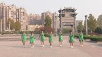 安徽池州徽韵舞队广场舞《守望者》原创舞蹈 团队版表演