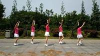 雨中阳光广场舞《那一段情》原创32步 附正背面演示及慢速口令教学