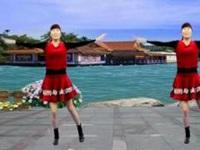龙游红飞舞广场舞《点赞新时代》原创混搭健身操 附口令分解动作教学演示