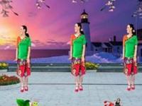 兰玉广场舞《草原花开香四方》原创舞蹈 正背面演示