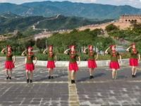河南子夏广场舞《中国梦》原创舞蹈 正背表演 团队版