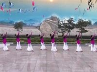鑫舞飞扬慕颜广场舞队广场舞《三生石上一滴泪》原创舞蹈 表演 团队版
