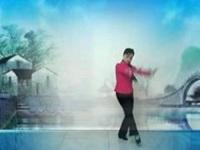 成都兰新广场舞《小河淌水》原创舞蹈 正背面演示