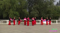 郑州市开心快乐舞蹈队广场舞 新女人花 表演 团队版
