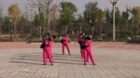 红红火火舞蹈队(二组)广场舞 送情郎 表演 团队版