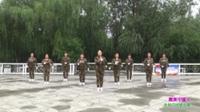 郑州市开心快乐姐妹花艺术团广场舞《最美中国人》原创舞蹈 表演 团队版