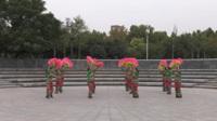 小贺庄秧歌队广场舞《花蝴蝶》原创舞蹈 表演 团队版