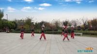 陕西华阴夕阳红舞蹈队广场舞 时装秀 【电话情缘】 表演 团队版