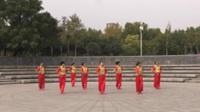 玉梦想舞蹈队广场舞《共同的我们》原创舞蹈 团队版表演