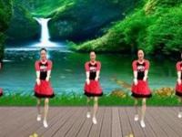 代玉广场舞《你是我的宝》编舞彭晓晖 正背面演示