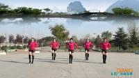 陕西华州赤水桥家炫彩舞蹈队广场舞《草原不寂寞》原创舞蹈 表演 团队版
