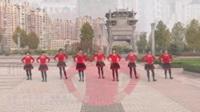 安徽池州柔之美舞队广场舞《乌苏里船歌》原创舞蹈 表演 团队版