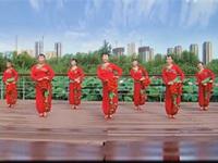 田益珍广场舞《丫蛋蛋》原创舞蹈 正背表演 团队版