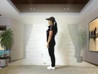 广西桂平白衣天使广场舞《基础奔跑》原创曳步舞 附正背面口令分解教学演示