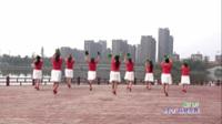 蒙城舞动快乐舞蹈队广场舞《福门开》原创舞蹈 表演 团队版