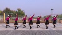 宿州梅兰玲广场舞《夫妻双双把家还》原创舞蹈 表演 团队版