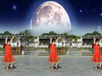 陈瑶湖天使广场舞《水月亮》编舞茉莉 正背面动作演示