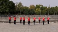 大中原舞蹈队广场舞《映山红》原创舞蹈 表演 团队版