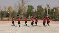 中牟河范老年队广场舞 九寨沟的春天 表演 团队版