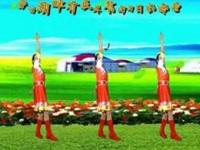 魏县梦之兰广场舞《齐齐哈尔我爱恋的故乡》原创藏族风 口令分解动作教学
