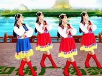 滨海新区汉沽和悦广场舞《蓝色天梦》原创舞蹈 正背面演示